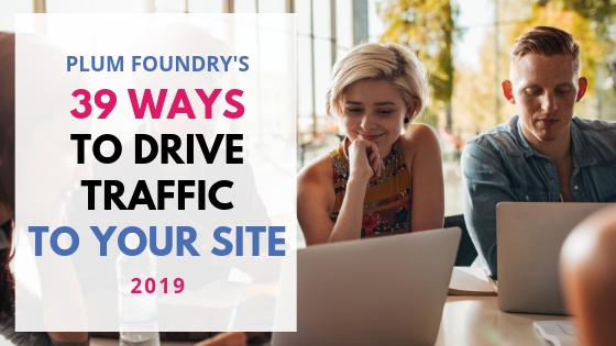increase traffic to my site